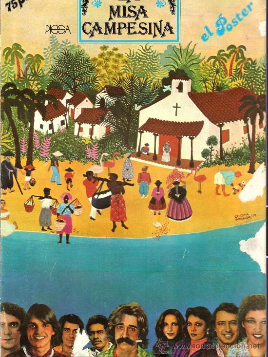 Misa Campesina Nicaragüense: ahora en póster