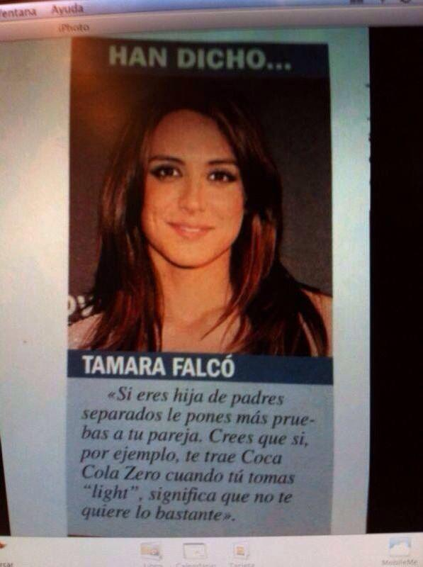 Tamara Falcó Coca Cola