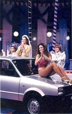 A Tía Alicia también le gustaba el Seat Ibiza (foto extraida de lawebdelundostres.es)
