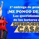 Ganadores de la I Edición de los premios «Me Pongo de Pie»
