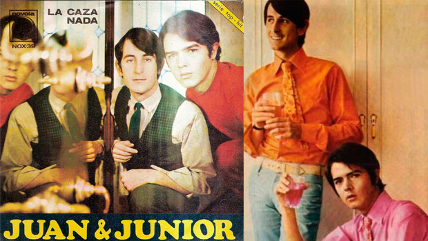 Señoras que versionan La caza de Juan y Junior