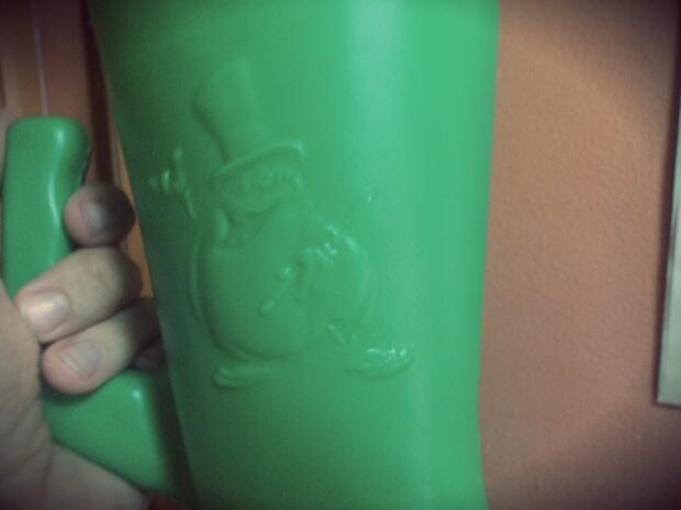 El cuerno del chollo verde