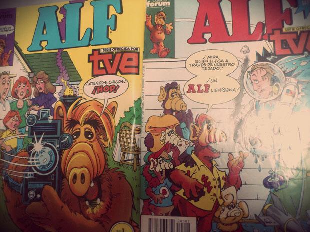 ¿Te acuerdas de Alf? Ha vuelto, en forma de cómic