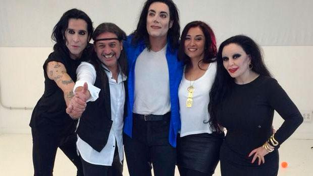 Michael Jackson, Alaska y Mario en el nuevo videoclip de Camela