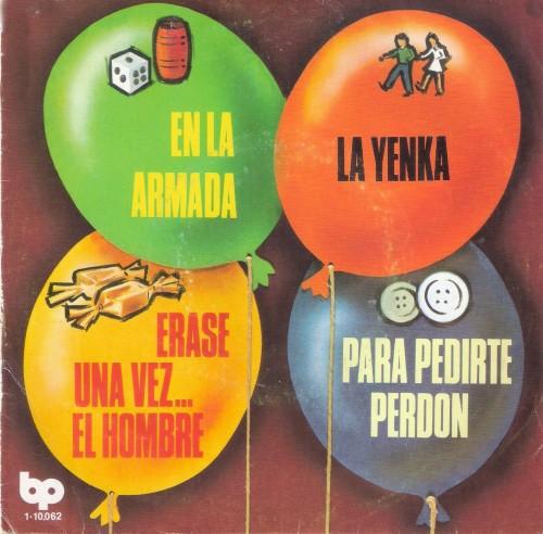 EP En la Armada Los chiquitines 1979