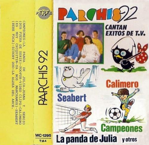 Parchis 92 cassette