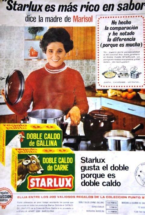 Anuncio Starlux Madre de Marisol