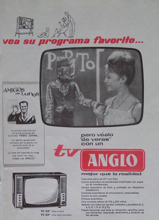 Marisol Publicidad Television