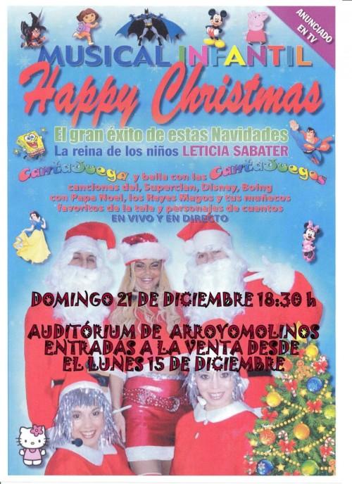 Leticia Sabater Happy Christmas 2014