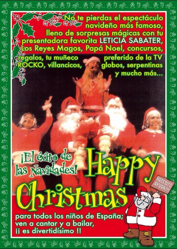 Leticia Sabater Happy Christmas