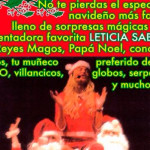 Leticia Sabater presenta «Happy Christmas», el musical navideño definitivo