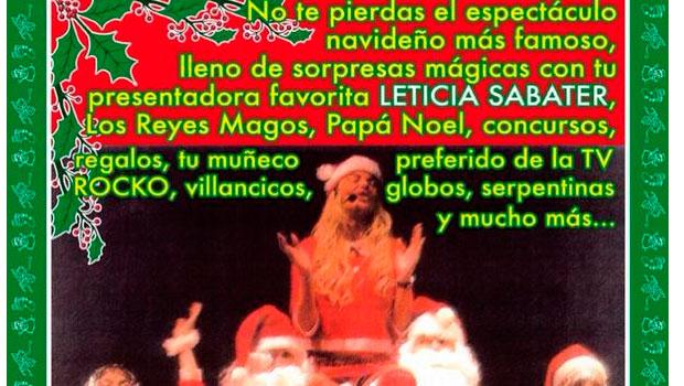 """Leticia Sabater presenta """"Happy Christmas"""", el musical navideño definitivo"""