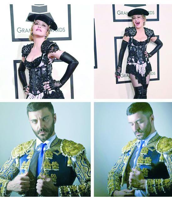 Madonna copia a un cantante