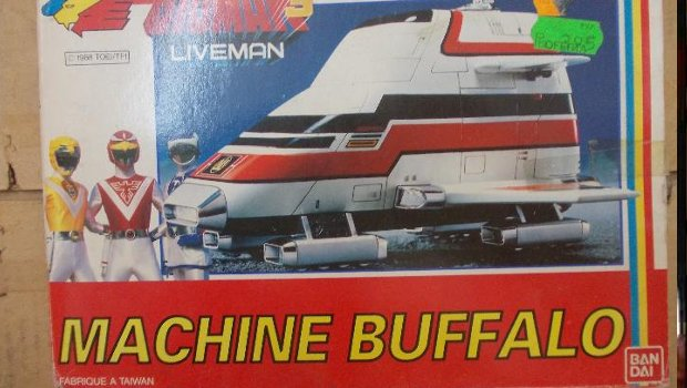 Maquina Bufalo Bioman