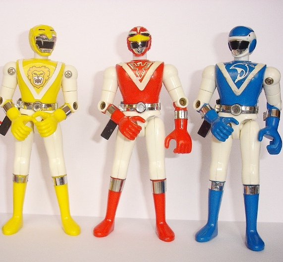 Los Bioman, los Power Ranger nipones de los 80 | Sufridores en casa