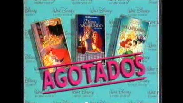 VHS Disney Anuncio
