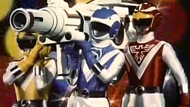 Los Bioman, los Power Ranger nipones de los 80