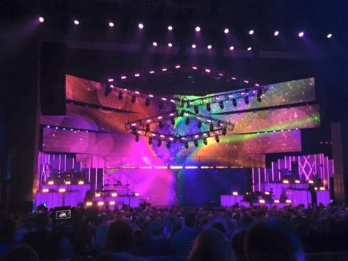 El escenario de Qué Eurovisión tan feliz