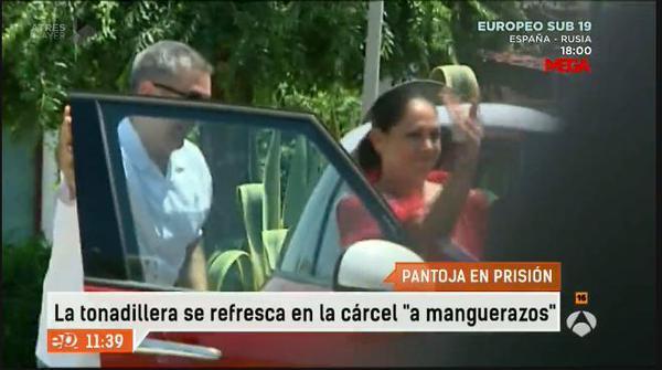 Isabel Pantoja Saliendo Carcel