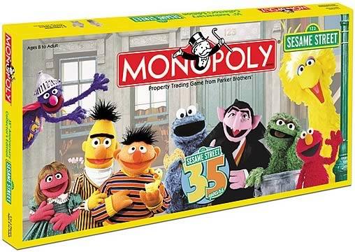 Monopoly Barrio Sesamo