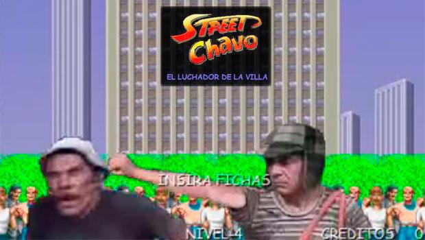 'Street Chavo', el 'Street Fighter' del Chavo del 8