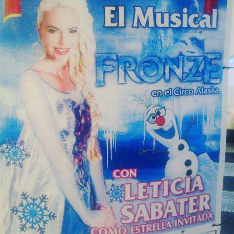 Frozen Leticia Sabater