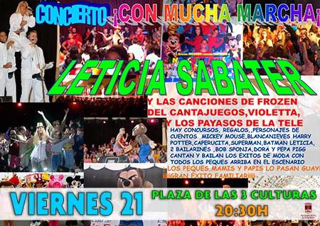 Leticia Sabater Con Mucha MArcha Concierto