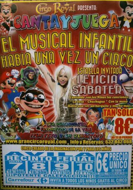 Leticia Sabater Habia una vez un circo