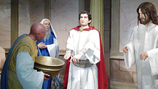 Museo-de-Cera-Vida-de-Cristo-Fatima-Pilato