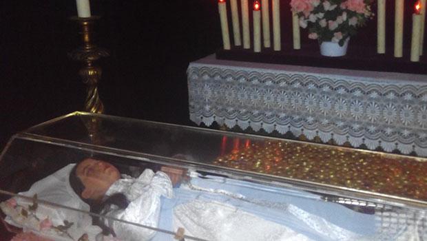 Museo-de-cera-Apariciones-Fatima-Jacinta-Marto-Cadaver-Muerta