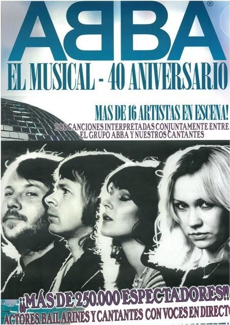 ABBA El Musical 40 aniversario