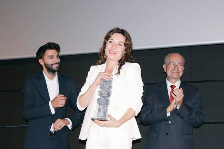 Lola Dueñas Premio Malaga