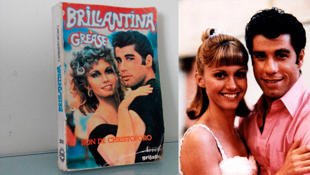 'Brillantina', la extaña novela de 'Grease'