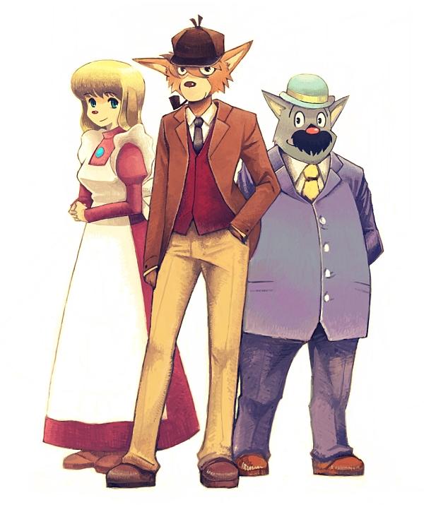 sherlock holmes anime 1