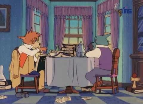 sherlock holmes dibujos animados 04