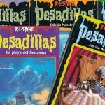 'Pesadillas' de R. L. Stine: libros, películas y cintas de vídeo