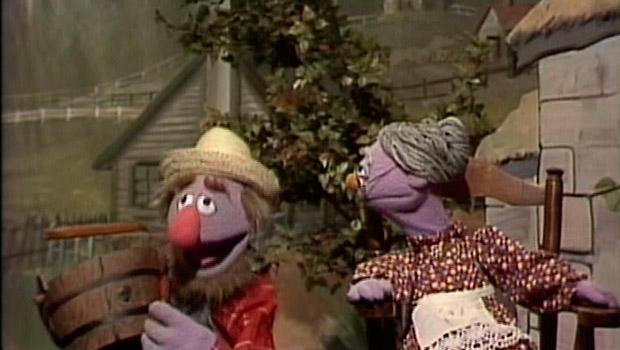 Tío Pepe y Tía Pepa y el agujero el cubo, 'Escenas de matrimonio' a lo Barrio Sésamo