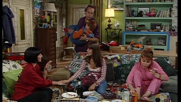 'Pepa y Pepe', la serie en la que Verónica Forqué siempre vestía de morado