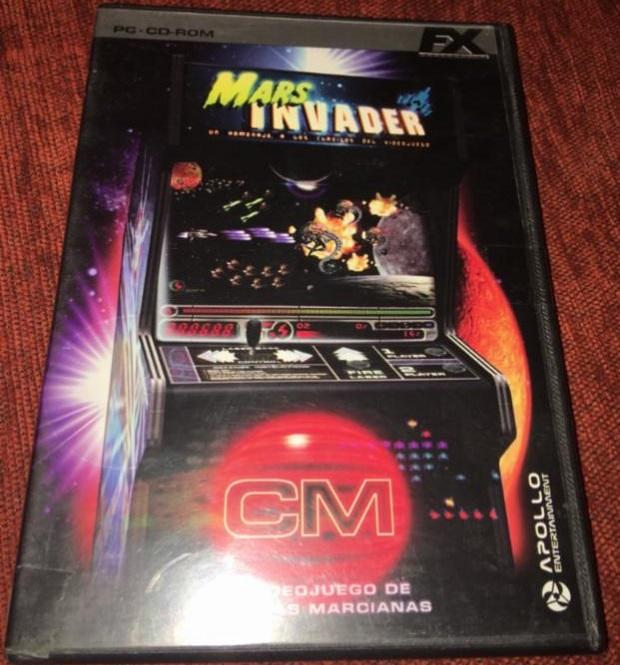mars invaders videojuego cronicas marcianas