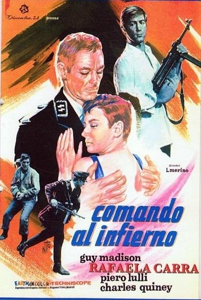 comando al infierno poster 1969