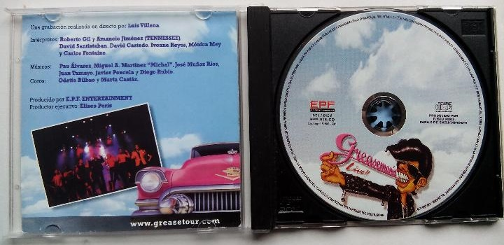 Grease Mania Live CD