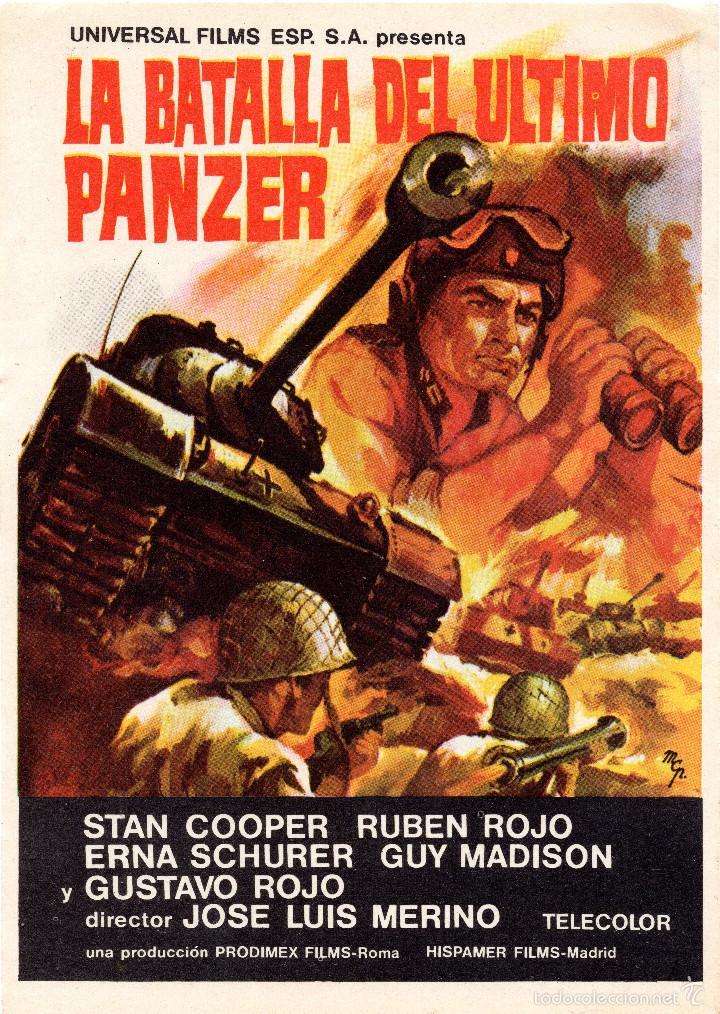 la batalla del ultimo panzer poster