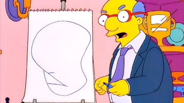 los simpson pictionary