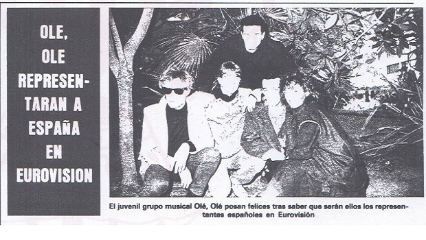 """Olé Olé se negó a ir a Eurovisión en 1984 porque no pensaban """"que fuese a sumar nada"""""""