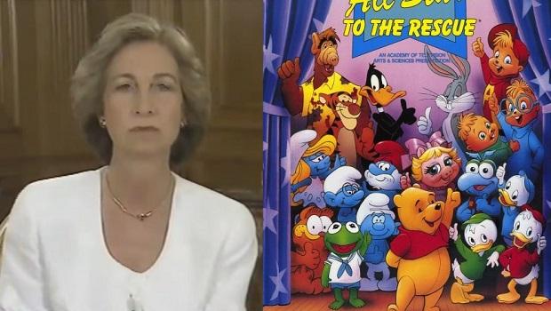 La Reina Sofía, Alf, los Pitufos y Disney contra la droga: Estrellas de los dibujos animados al rescate