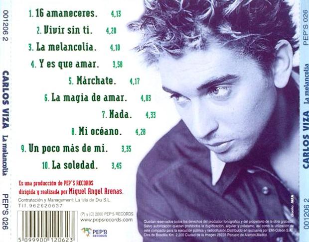 carlos viza la melancolia 2000