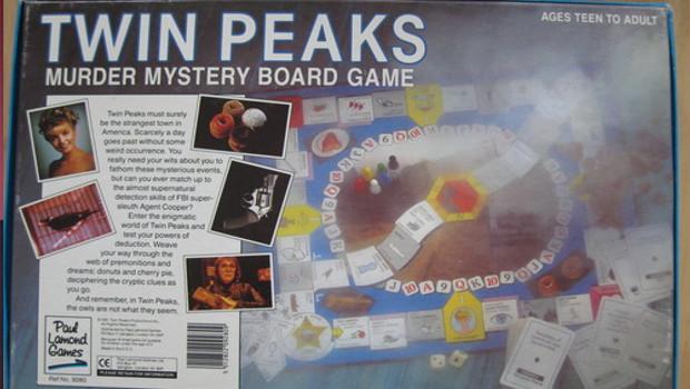 caja juego de mesa twin peaks