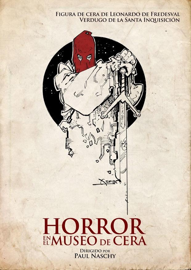 Horror en el museo de cera cartel paul naschy