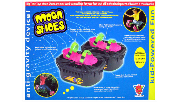 moon shoes antigravedad