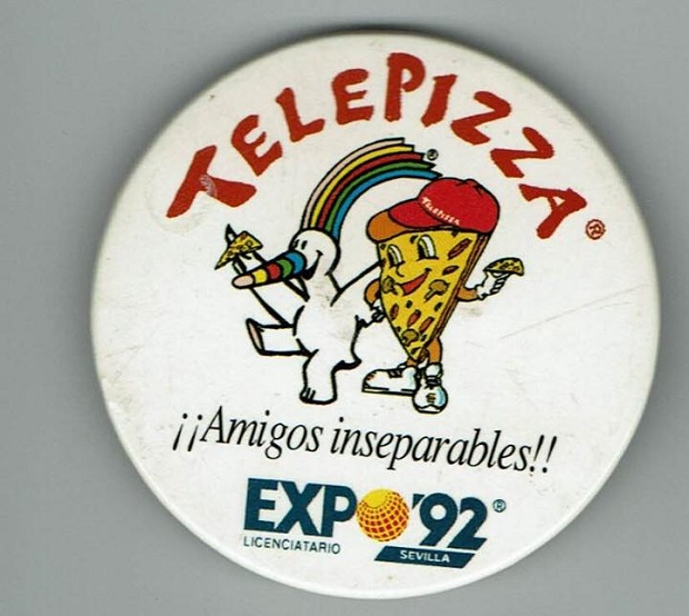 mascota telepizza 1992